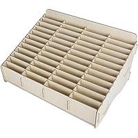 Stockage de téléphone portable, boîte de rangement en bois de téléphone portable de protection de l'environnement de…