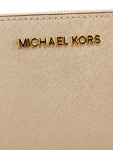 Michael Kors Jet Set Travel Continental Zip Purse Or