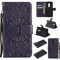 ZTE AXON 7 Hülle,ZTE AXON 7 Case,ZTE AXON 7 Leder Wallet Tasche Brieftasche Schutzhülle,Cozy Hut Prägung Sunflower... preisvergleich bei billige-tabletten.eu