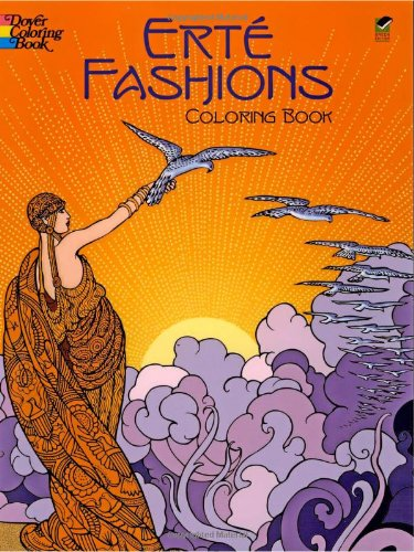 Erte Fashions Coloring Book (Dover Pictorial Archives)