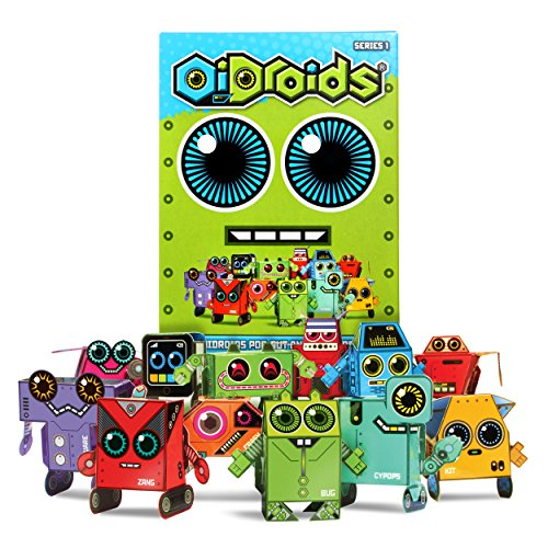 oidroids-series-1-pack-of-15-papercraft-robot-cards