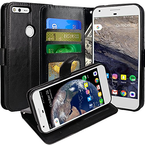 google-pixel-case-wallet-with-ipro-accessories-blocking-pu-leather-flip-cover-black
