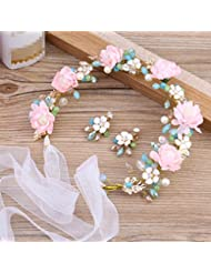 Couronne de coiffure de mariée, anneau de tête de coiffure, couronne à main, accessoires de mariage