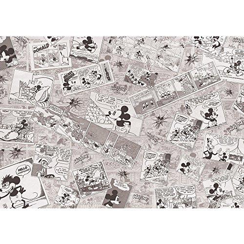 Vlies Fototapete PREMIUM PLUS Wand Foto Tapete Wand Bild Vliestapete - Cartoon Comic Freunde Pluto Mickey Mouse Kindertapete - no. 2136, Größe:416x254cm Vlies