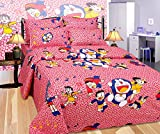 ShopGalore 250 TC Cotton Double Bedsheet...