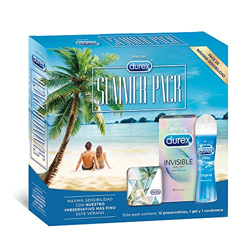 Durex Summer Pack: Preservativos Invisible Extra Sensitivo
