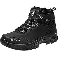 Scarpe da Trekking Uomo Trekking Impermeabili Escursionismo Arrampicata Scarponcini Traspiranti Trekking Sneakers Nero…