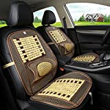 #5: Nimble House ® ™ Summer Car Cushion Bamboo Car Seat Cover Breathable Massage Cool Cushion For 1 Seats