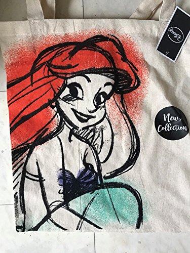 Generc Tragetasche Disney-Prinzessin-Ariel-Motiv -