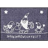 Salonloewe Fußmatte HEREINGEWICHTELT - (SLD1753-050X075)