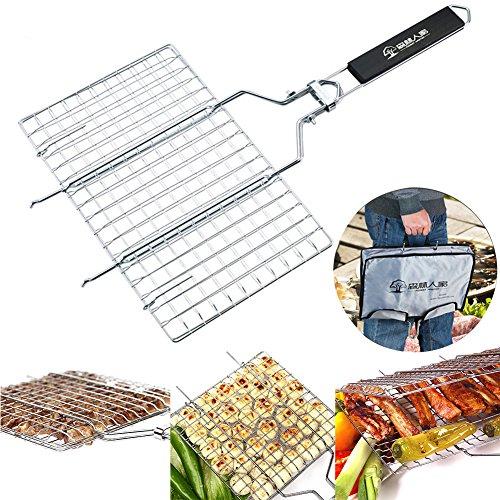 dohot-staccabile-in-acciaio-inox-bbq-campeggio-antiaderente-grande-griglia-per-pesce-con-manico-in-l
