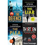 Steve cavanagh eddie flynn collection 4 books set
