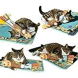 [AIDIYA] Gato Interactivo Juguete con Hierba Gatera (Oro)