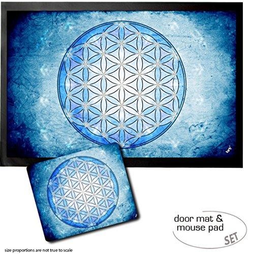 1art1 Mandalas, La Flor De La Vida, Elemento Agua