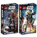 Lego Star Wars 2er Set 75533 75535 Boba Fett + Han Solo