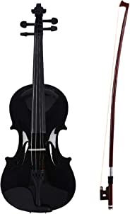 Arctic Onyx Violin Kit - Violin 4/4 with case, bow & Rosin