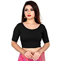 Life Win Stretchable Blouse 28 to 46 Size Cotton Lycra for Women?