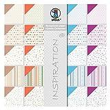 Ursus 70850099 - Scrapbook paper Block Classic Christmas, ca. 30,5 x 30,5 cm, 20 Blatt sortiert in 20 Motiven