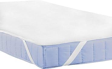 CNMF Matratzenschoner wasserdicht Matratzen,Sleep Matratzenauflage, aus 100% Baumwolle, Schonbezug, Inkontinenzunterlage, Topper- Bettauflage, Schlafunterlage, Wasserdichter Matratzen- Schutz-Bezug
