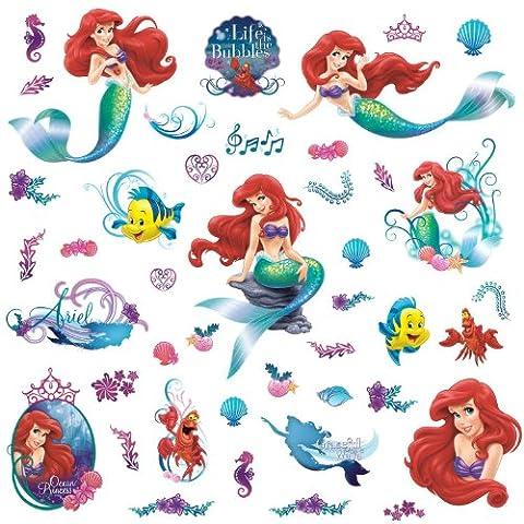 RoomMates Disney The Little Mermaid, mehrfarbig