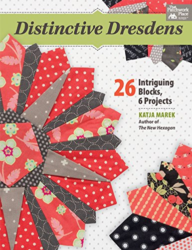 Distinctive Dresdens: 26 Intriguing Blocks, 6 Projects (English Edition) Christmas Plate Block