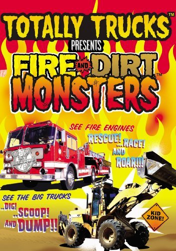 Totally Trucks: Fire & Dirt Monsters by n/a - Monster-truck-dvd