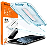 Spigen Tempered Glass Screen Protector Glas.tR EZ Fit Designed for iPhone 11 Pro/iPhone Xs/iPhone X 5.8 inch Case Friendly -