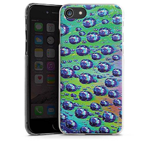Apple iPhone X Silikon Hülle Case Schutzhülle Tropfen Licht Wasser Hard Case transparent