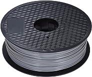 Color Optional PLA Filament 1kg/Roll 2.2lb 1.75mm for MakerBot Anet RepRap 3D Printer Pen Gray