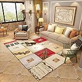 Creative Light Nordic Modern Teppich Sofa Couchtisch Wohnzimmer Teppich Schlafzimmer Bedside Rectangle Home Matten (Größe : 140cm*200cm)