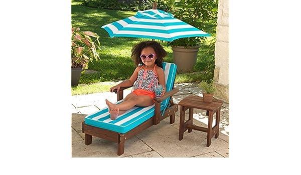 Coemo 2 x Adirondack Kinderstuhl Gartenstuhl Sonnenliege aus Holz für Kinder