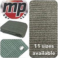 MP Essentials - Estera transpirable y resistente al agua para exterior, para suelo y tiendas de campaña, color GREEN & GREY, tamaño 2.5 x 3m