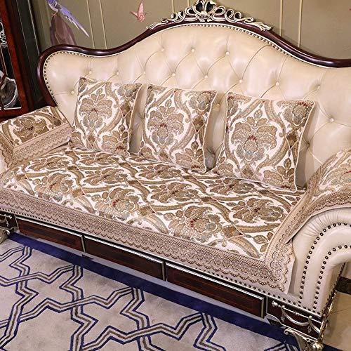 Sofa Schonbezug Loveseat Couch Sofa Sofas Sofas Sofas Sofas Sofas Schonbezug Anti-Rutsch-Stoff Sitzen Allzweck-Rückenlehnenhandtuch Schonbezug Staubdicht Waschbar, für Wohn- und Schlafzimmer, YueQiS -