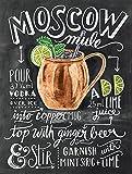 Moscow Mule Metall Dose Wand Schild Geschenk Wand K?che