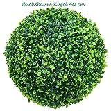 TLC Ø 38-40 cm künstliche Buchsbaumkugel (CLASSIC) natürlich wirkend (40)