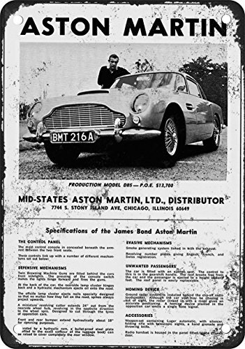 1966-james-bond-aston-martin-aspecto-vintage-reproduccion-metal-tin-sign-8-x-12-pulgadas