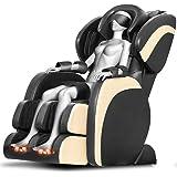 Fauteuil Massant Relaxant Électrique Chauffage Local Massage Multi-Points Pétrissage et Pressage,60 Airbags,Parties Applicables: Tête/Cou/Dos/Taille/Hanche(Hk-88Y-20)