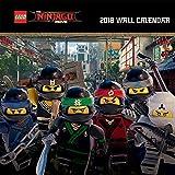 Lego Ninjago Square Calendar 2018