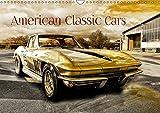 American Classic Cars (Wandkalender 2019 DIN A3 quer): US Oldtimer (Monatskalender, 14 Seiten ) (CALVENDO Mobilitaet)