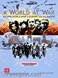 Image for board game GMT Games A World at War: Second World War in Europe and The Pacific