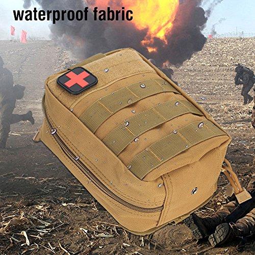 eecoo Erste Hilfe Tasche Leer Medizinische Tasche Taktische -