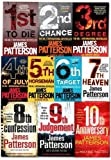 james patterson collection 8 Books Set RRP - 63.92(8th Confession,7th Heaven,...