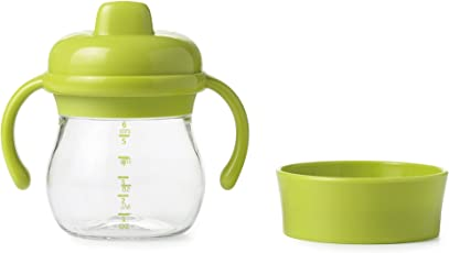 OXO Tot Transitions Sippy Cup Set, Green, 6 Ounce
