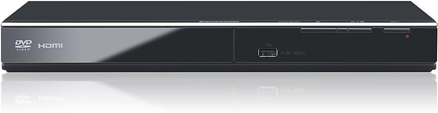 Panasonic DVD-S700EG-K DVD-Player (Multiformat Wiedergabe mit xvid, MP3 und JPEG, USB 2.0, HDMI, SCART, CD Ripping Funktion) Schwarz
