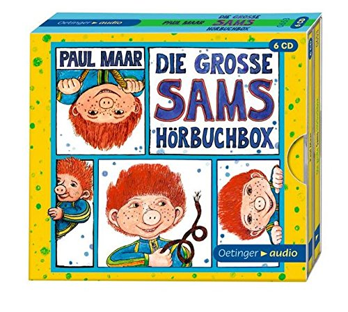Die grosse Sams-Hörbuch-Box 6CD: Ungekürzte Lesungen, ca. 393 min.