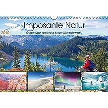 Edition Naturwunder: Imposante Natur - Winziger Mensch (Wandkalender 2019 DIN A4 quer): Gegenüber der Natur ist der Mensch winzig (Monatskalender, 14 Seiten ) (CALVENDO Orte)