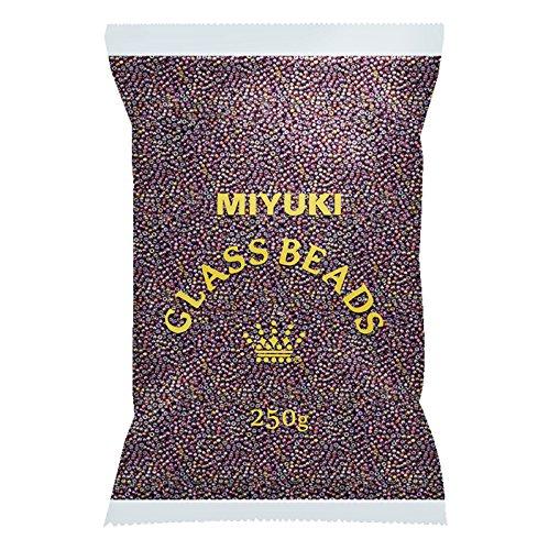 Miyuki Großhandel von Rocailles 8/0S/L Dark Topaz AB 250g -