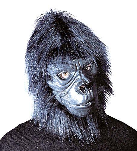 Kong Kostüm King - Affenmaske Gorilla Maske Affe King Kong Gorillamaske