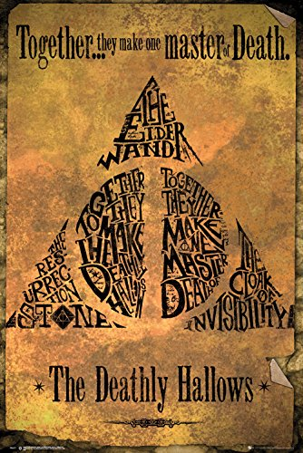 GB eye, Harry Potter, Deathly Hallows Gold, Maxi Poster