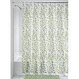 InterDesign Botanical EVA/PEVA Cortinas de ducha de EVA, cortina impermeable para bañera y